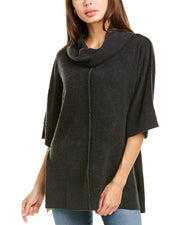 Raffi Reversible Cowl Cashmere Sweater