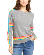 Scott & Scott London Rainbow Cashmere Sweater