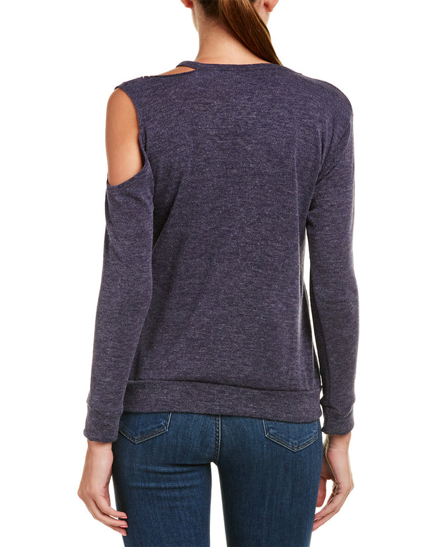 Caleigh & Clover Presley Cold-Shoulder Top