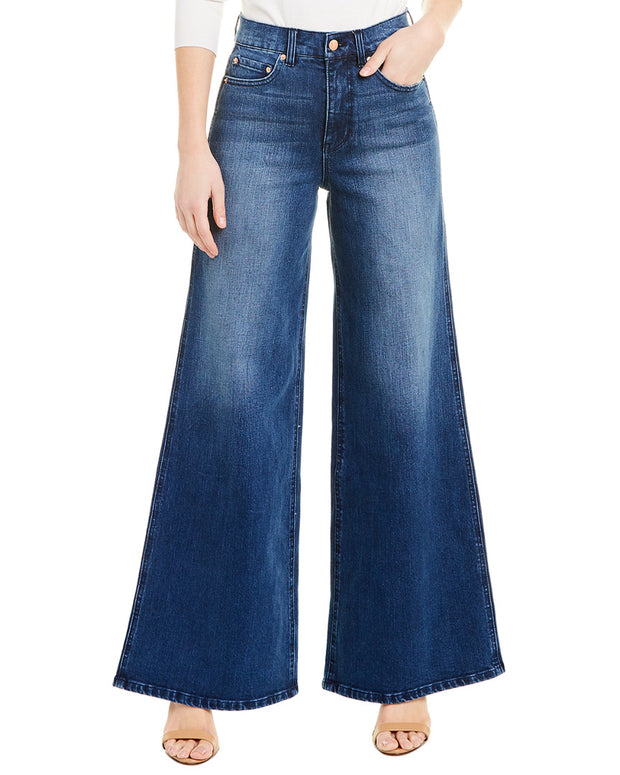 Blue Revival Paris High-Rise Palazzo Pant