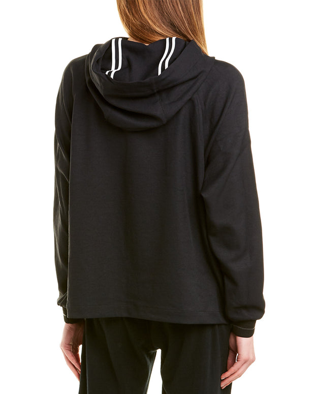 James Perse Side Snap Hooded Jacket