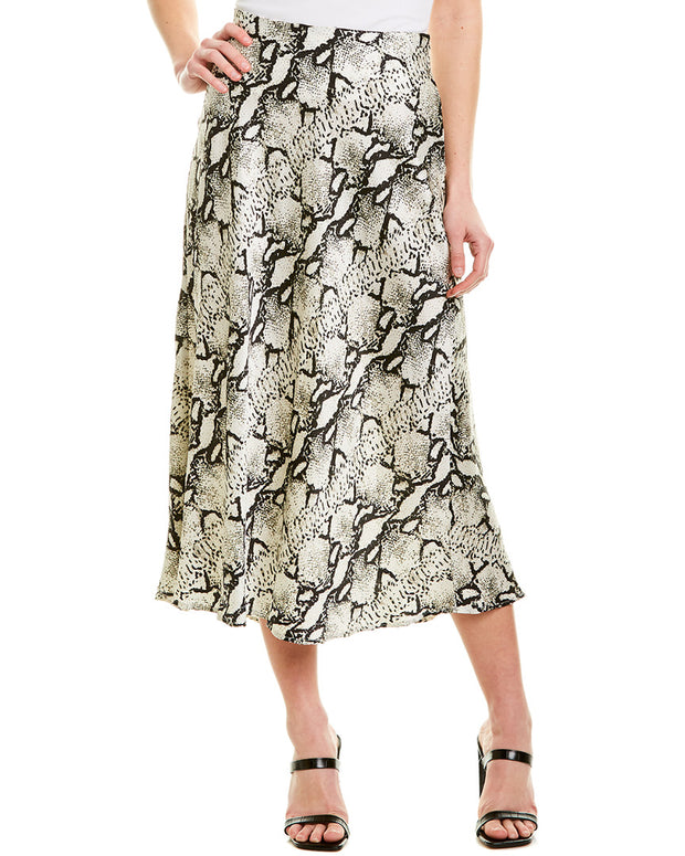 525 America Satin Bias Cut Skirt