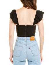 Alice + Olivia Celestia Crop Top