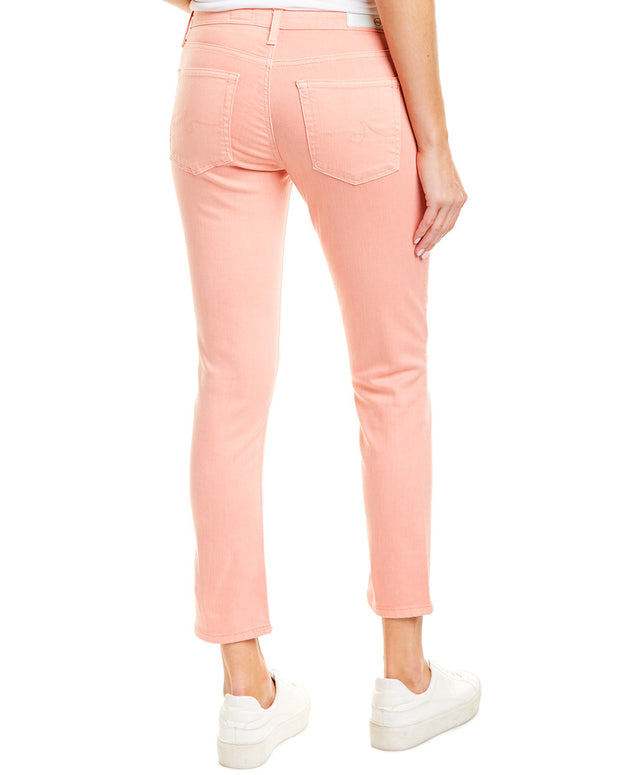 Ag Jeans The Prima Peach Quartz Cigarette Crop
