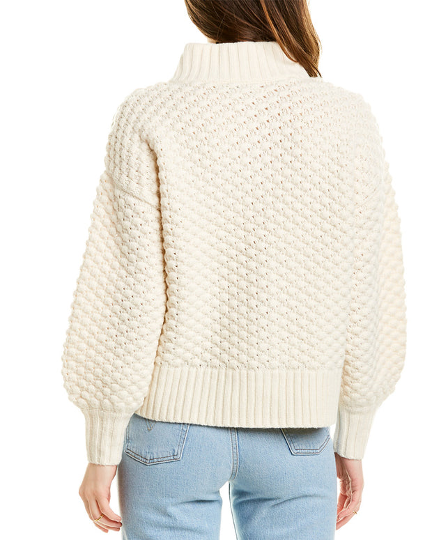 Madewell Surrey Bobble Wool-Blend Cardigan