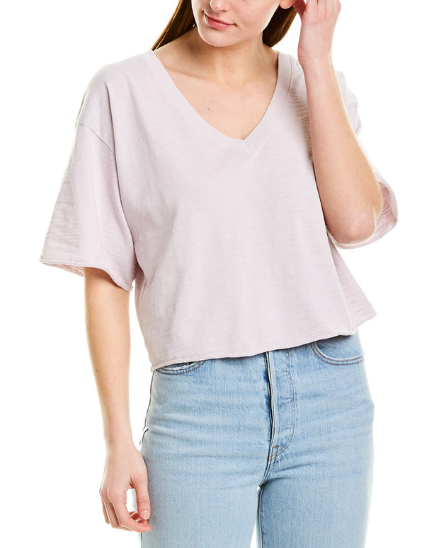 Nation Ltd Casey Oversized Crop Blouse