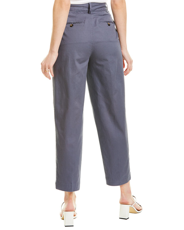 Madewell Pleated Tapered Pant