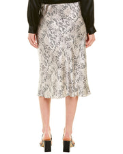 Atm Printed Silk Pencil Skirt
