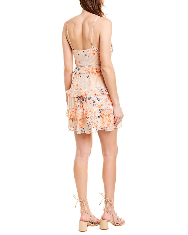 Ramy Brook Emmie Silk Mini Dress