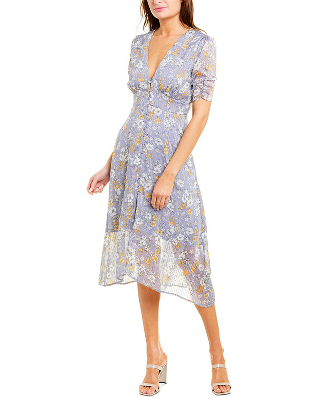 Astr The Label Soleil Midi Dress