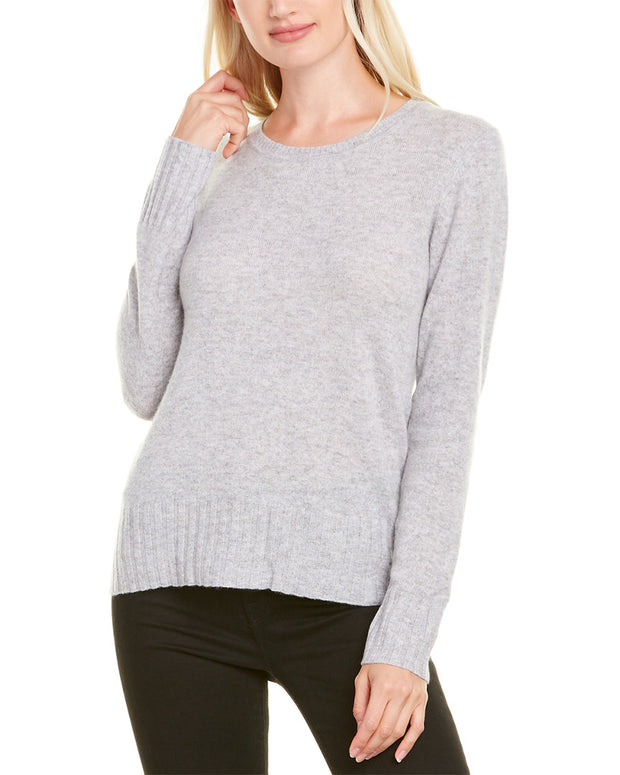 Ainsley Basic Crewneck Cashmere Sweater