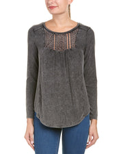 Anama Crocheted Inset Top