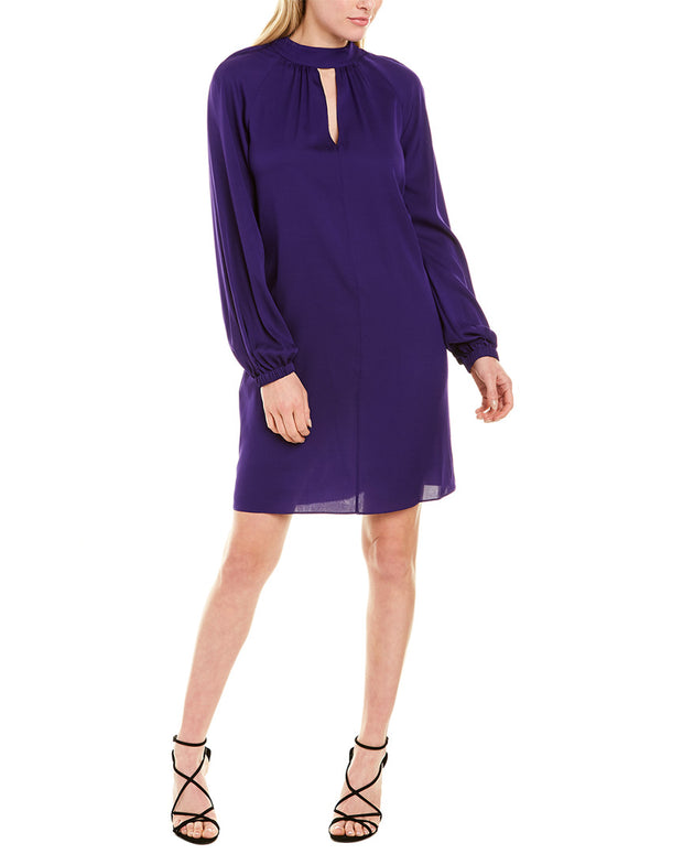 Milly Emerson Silk-Blend Midi Dress