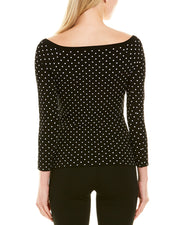 Milly Micro Dot Top