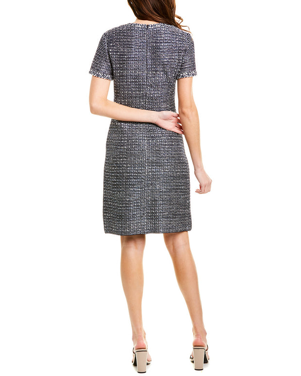 St. John Wool-Blend Sheath Dress