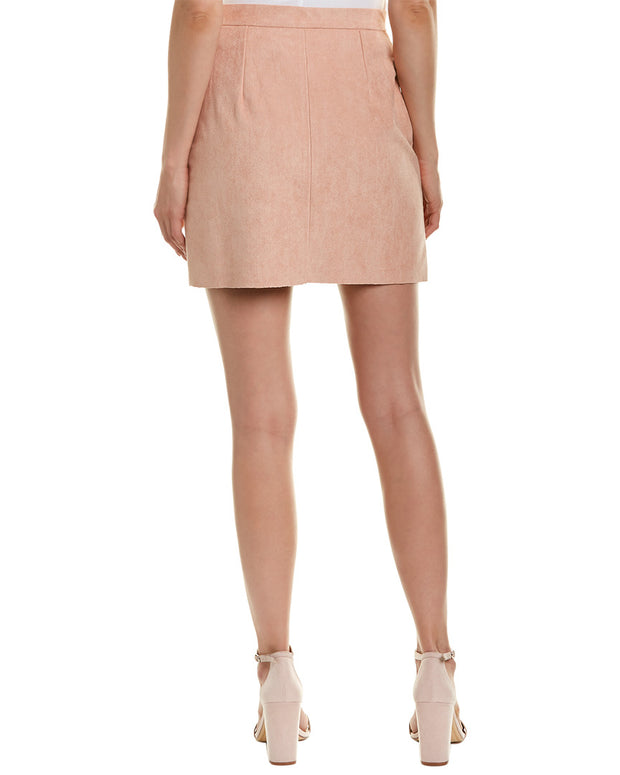 Bishop & Young Exposed Zip Mini Skirt