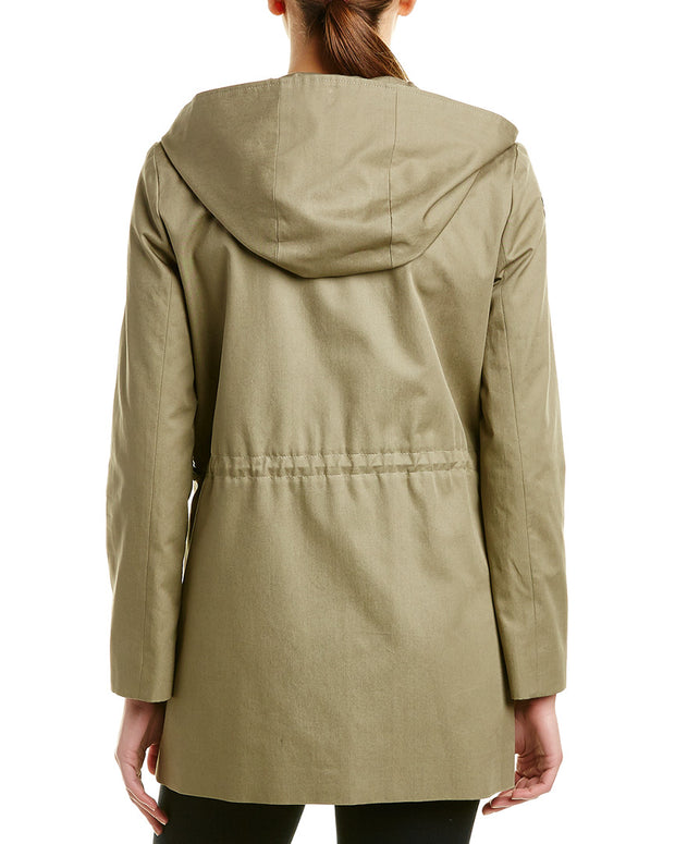 Cinzia Rocca Icons Patched Trench Coat