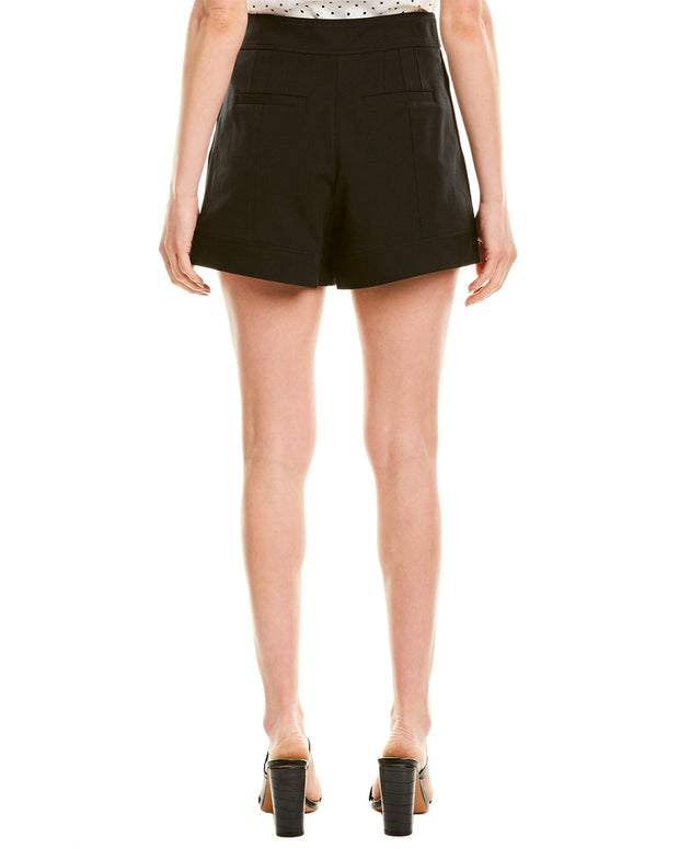 Derek Lam 10 Crosby High-Waist Side Snap Short