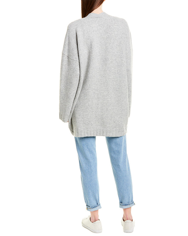 J.Crew Supersoft Wool & Alpaca-Blend Open Cardigan