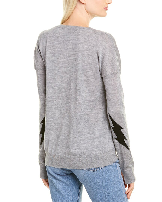 Zadig & Voltaire Cici Patch Cashmere Pullover