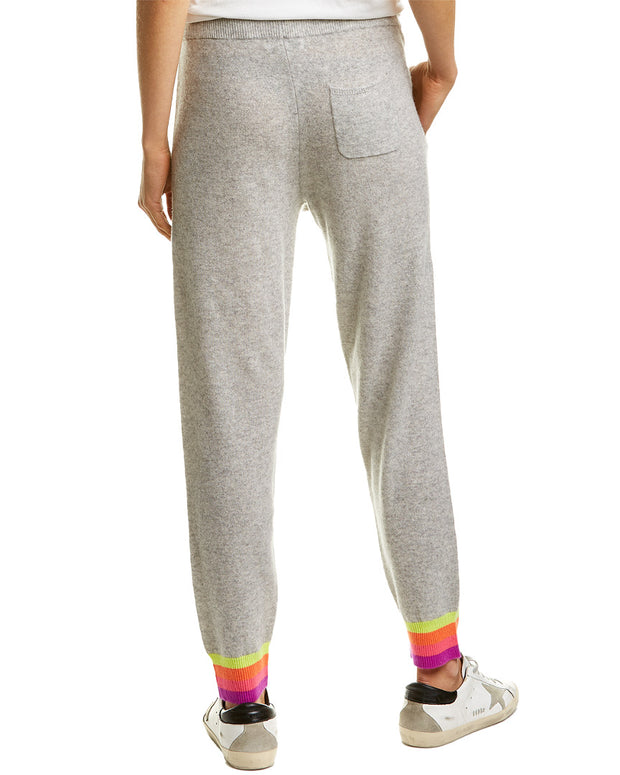 Scott & Scott London Rainbow Cuff Cashmere Jogger