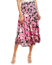 Kate Spade New York Collection Wallflower Satin Skirt