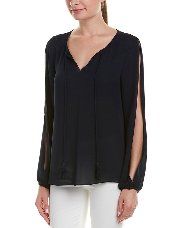 St. John Silk Top