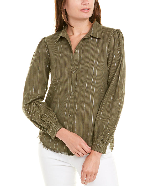 Lilla P Button-Down Top