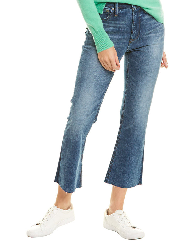 J.Crew Billie Cool Shadow Wash Demi Cropped Bootcut