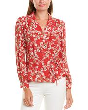 Vince Camuto Wrap Top