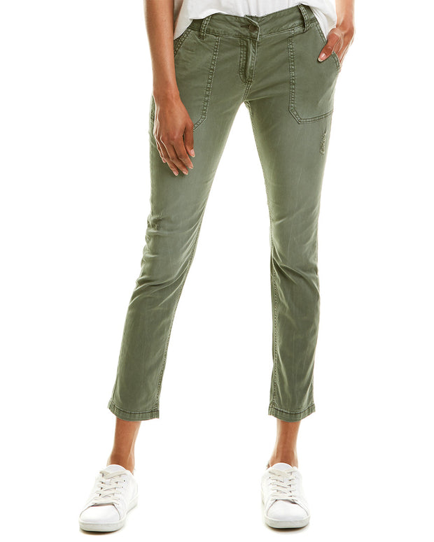 Elan Washed Low-Rise Pant