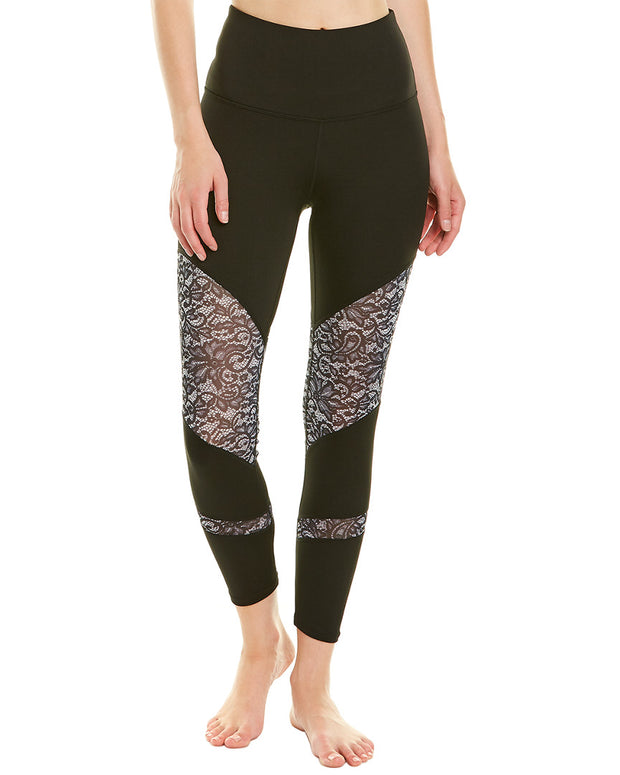 Nanette Lepore Ultra High Waist Lace Legging