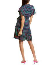 Diane Von Furstenberg Avaya Wrap Dress