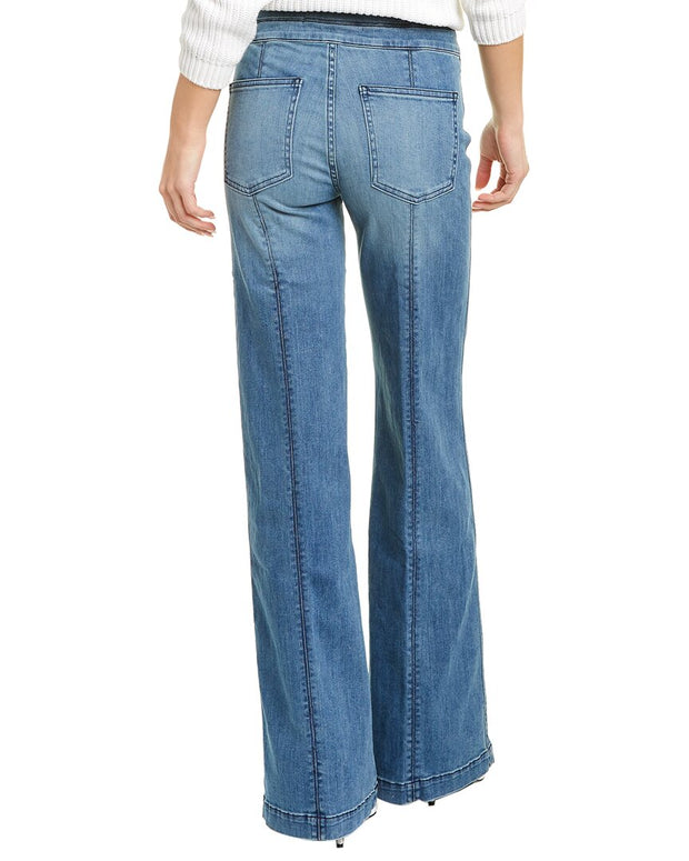 Veronica Beard Ember High-Rise Wide Leg Jean