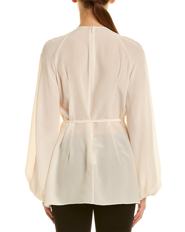 Stella Mccartney Bib Silk Top