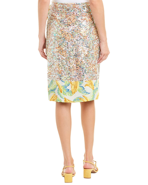 Le Superbe Eve Out Wrap Skirt
