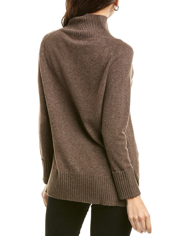 Kier + J Turtleneck Cashmere Sweater