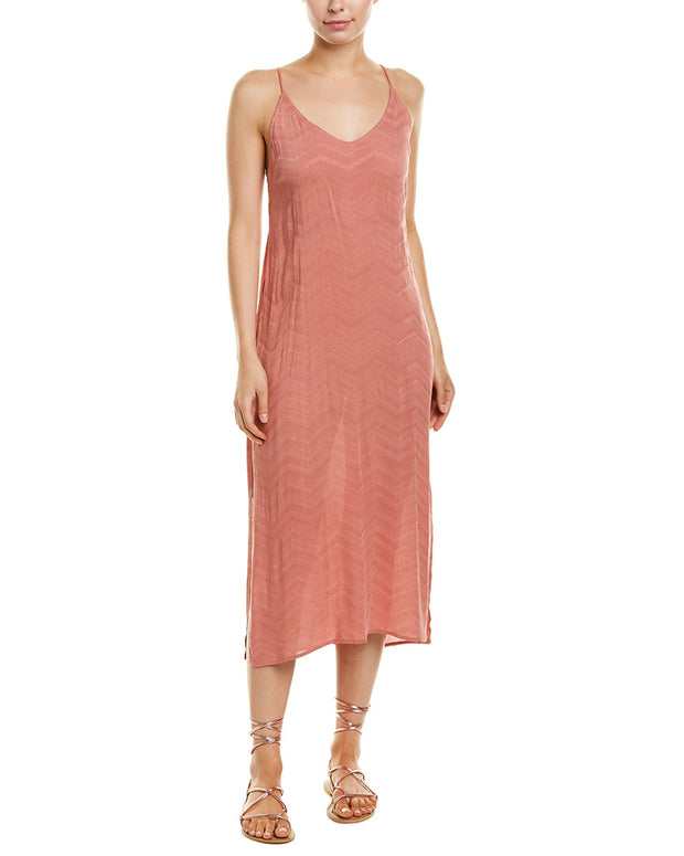 Dee Elly Textured Maxi Dress