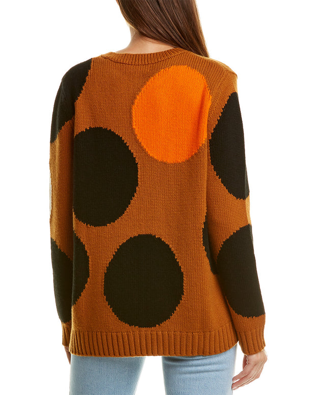 Chinti & Parker Dot Wool & Cashmere-Blend Sweater