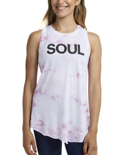Soul By Soulcycle Knot Crop Tank Top