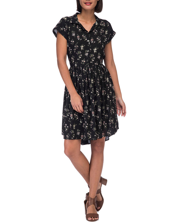 Bobeau Mare Dalman Sleeve Dress