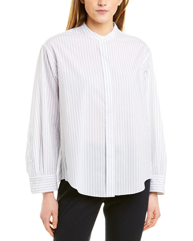 Vince Pleated Shirt