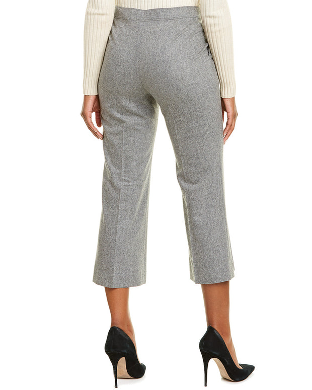 Lafayette 148 New York Cropped Manhattan Flare Pant