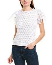 Rebecca Taylor Pointelle Top