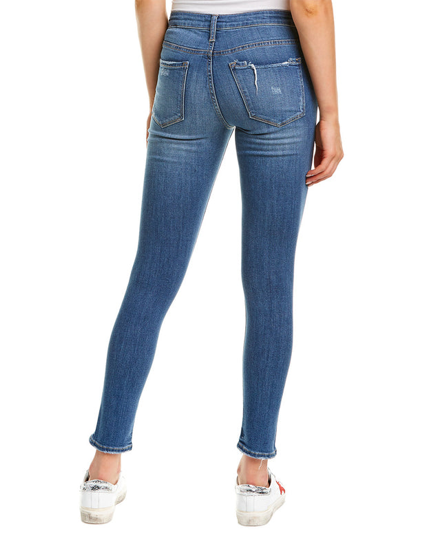Vervet Medium Blue Ankle Skinny Fit