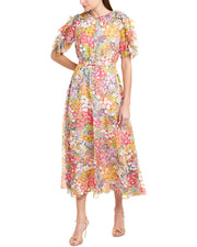 Kate Spade New York Silk Midi Dress