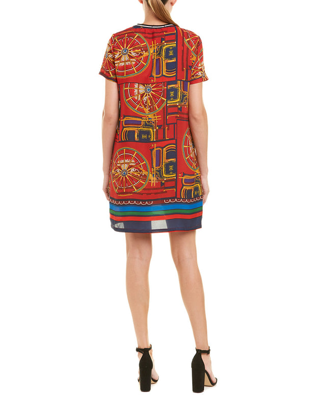 Beulah Printed Shift Dress