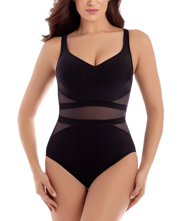 Miraclesuit Illusionist Its Acinch One-Piece