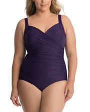 Miraclesuit Solid 18 Wm Sanibel One-Piece