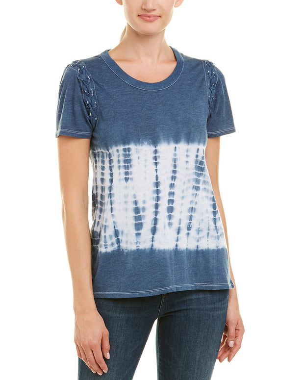 Chaser Lace-Up Sleeve T-Shirt